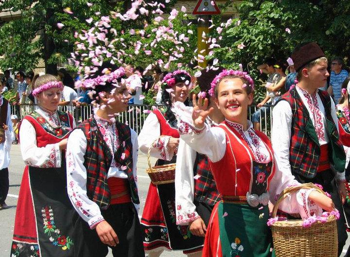 фестиваль розы в казанлык